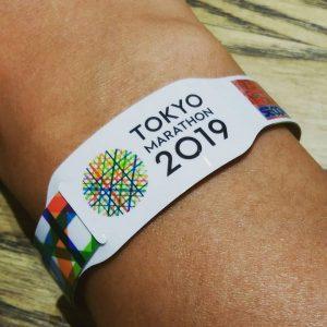 東京マラソン2019参加者バンド