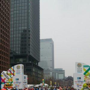 東京マラソンフィニッシュ